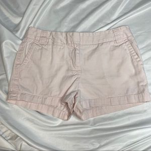 J.Crew Chino City Fit Light Pink Shorts size 6